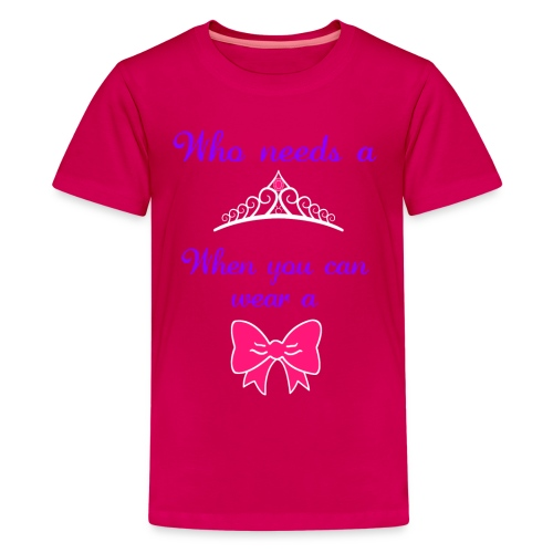 Who Needs... - Pink - Kids' Premium T-Shirt