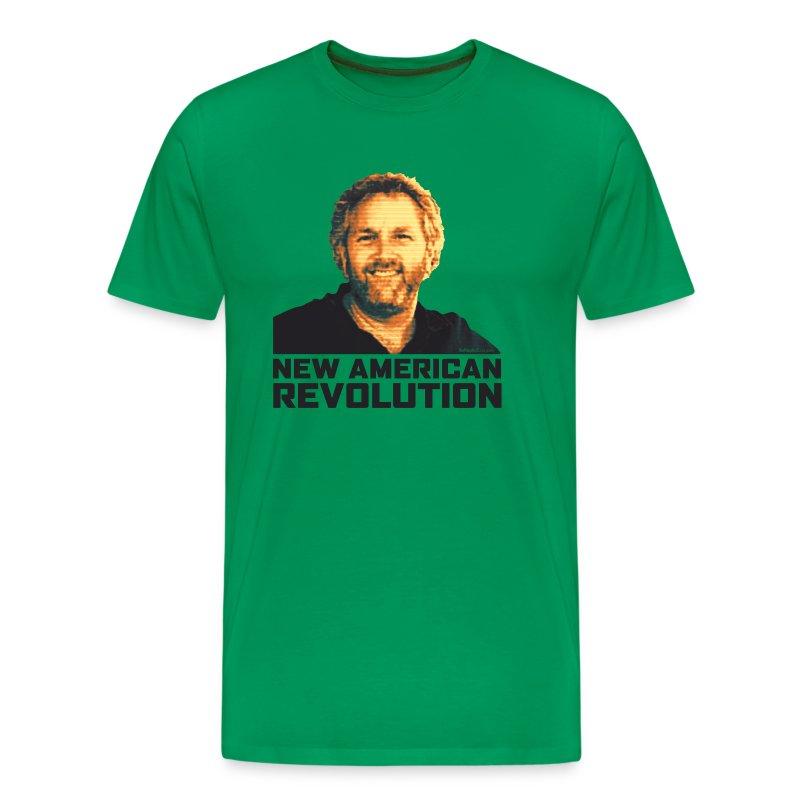 Breitbart Smiles: New American Revolution - Men's Premium T-Shirt