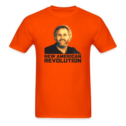 Breitbart Smiles: New American Revolution - Men's T-Shirt