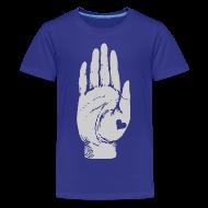 Kids' Shirts ~ Kids' Premium T-Shirt ~ Heart in Hand