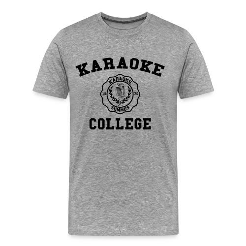 Karaoke College Alumni T-Shirt - Men's Premium T-Shirt