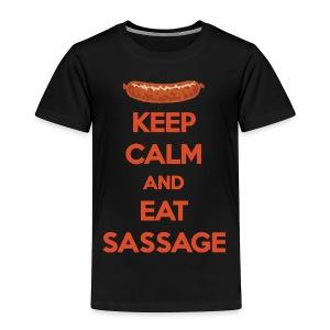 Keep Calm And Eat Sassage - Toddler Premium T-Shirt