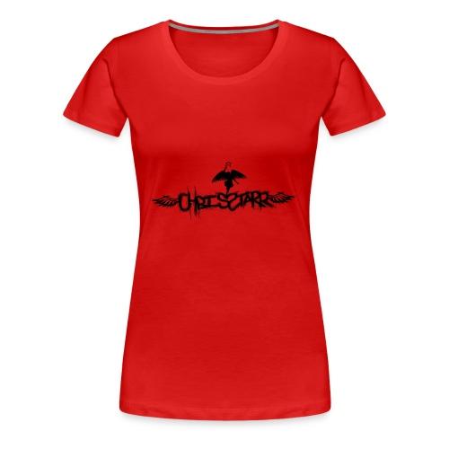 New Chris Starr Logo Tee - Women's Premium T-Shirt