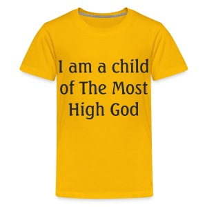 Most High God - Kid - Kids' Premium T-Shirt