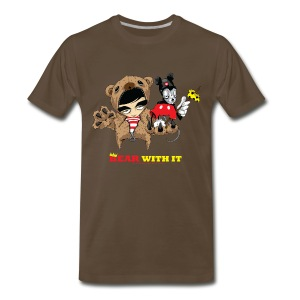 Bear With It 2 - Men's Premium T-Shirt