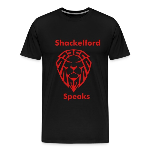 Shackelford Speaks - Men's Premium T-Shirt
