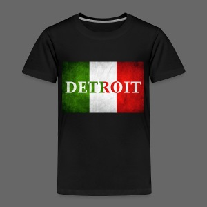 Detroit Italian Flag - Toddler Premium T-Shirt