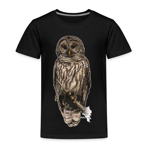 Barred Owl 8630_for Black - Toddler Premium T-Shirt