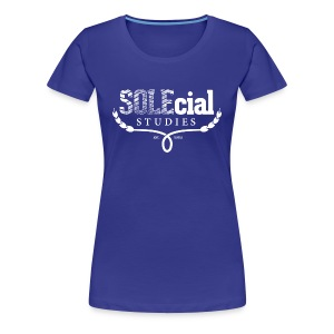 SOLEcial Studies Tee for Women by RDQLUS creative (Pick Your Color) *Scholarship Tee* - Women's Premium T-Shirt