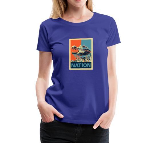 Gator Nation Womens Tee - Women's Premium T-Shirt