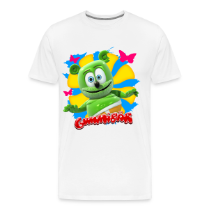 Gummibär Butterflies Men's 3XL & 4XL T-Shirt - Men's Premium T-Shirt