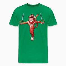 Olympic Flying Rings Monkey T-Shirts