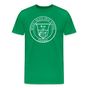 RBHS Hornets version (white ink on dark shirt) - Men's Premium T-Shirt