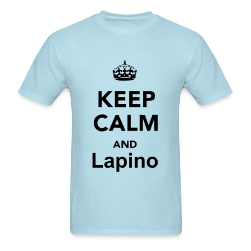 Keep Calm and Lapino - Men's T-Shirt