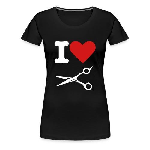 I Love Cutting - Womens - Women's Premium T-Shirt