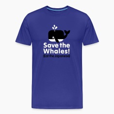 Save the Whales! Eat the Japanese T-Shirts
