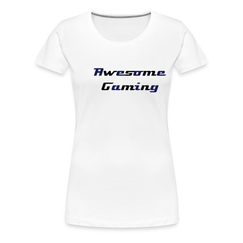 Awesome Team Roster Blue - Women's Premium T-Shirt