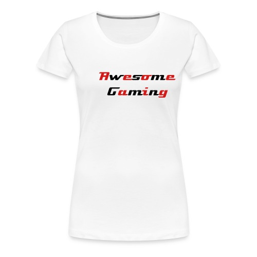 Awesome Team Roster Red - Women's Premium T-Shirt
