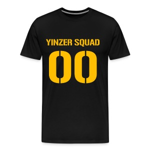 Yinzer Squad Mens Heavy Black - Men's Premium T-Shirt