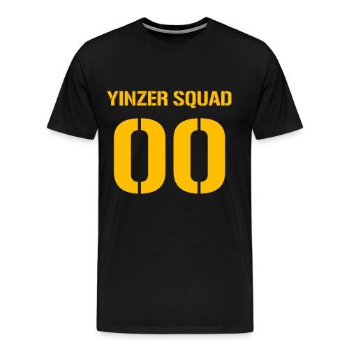 Yinzer Squad Mens Heavy Black - Men's Premium T-Shirt