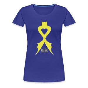 Rise Aurora Colorado - Womens Shirt light - Women's Premium T-Shirt