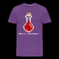 T-Shirts ~ Men's Premium T-Shirt ~ Health Coverage Men's Heavyweight T-Shirt