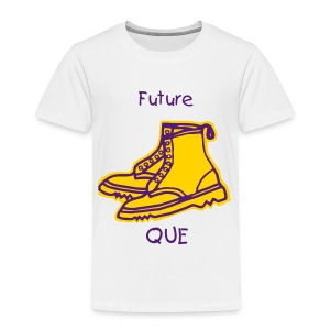 Future Que Gold Bootsv2 - Toddler Premium T-Shirt
