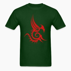 abstract_tribal_dragon_tatto T-Shirts