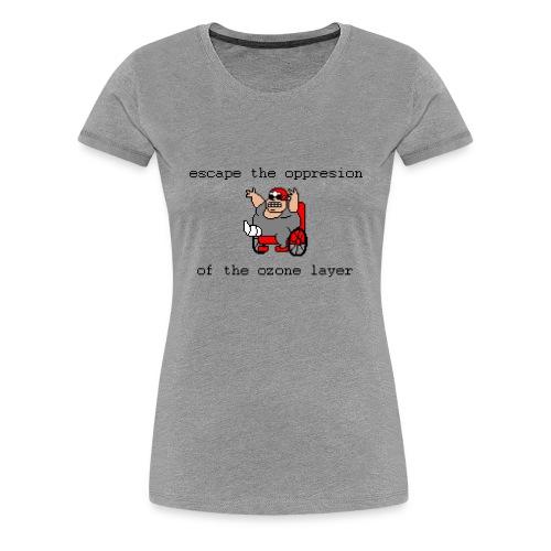 Uncle Proton (Womens) - Women's Premium T-Shirt