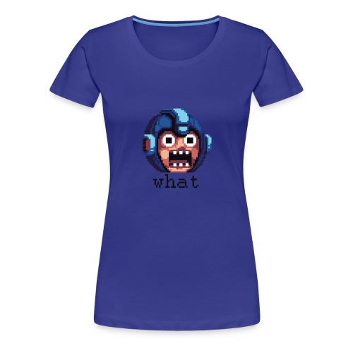 Megaman Head (Womens) - Women's Premium T-Shirt