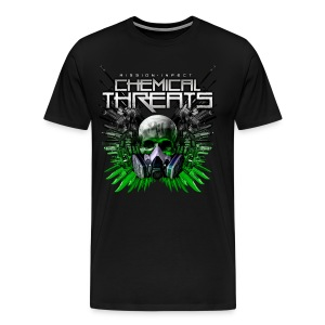 CHEMICAL THREATS MASS WEAPONS SHIRT XXXL AND UP - Men's Premium T-Shirt