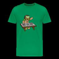 T-Shirts ~ Men's Premium T-Shirt ~ Big/Tall Mens Tee: Um Bongo