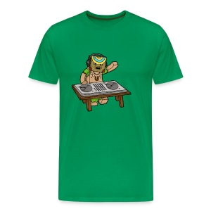 Big/Tall Mens Tee: Um Bongo - Men's Premium T-Shirt