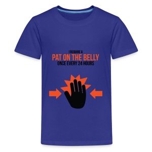 Kids Tee: Belly Pat - Kids' Premium T-Shirt