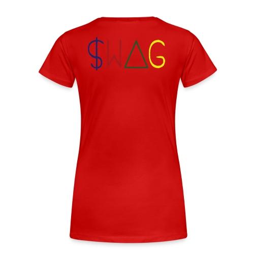 swag on u - Women's Premium T-Shirt