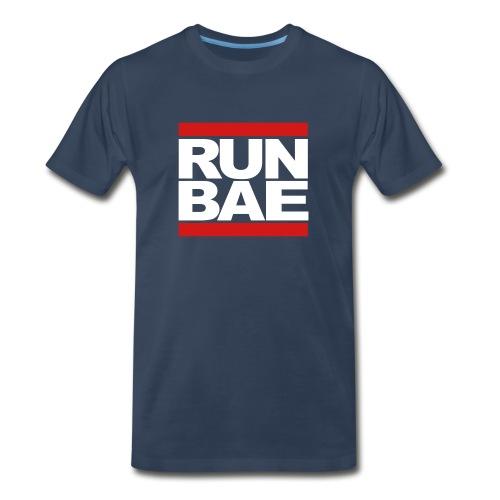 RUN BAE - Navy - Men's Premium T-Shirt