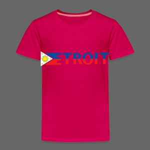 Detroit Philippines Flag - Toddler Premium T-Shirt