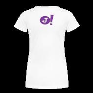 T-Shirts ~ Women's Premium T-Shirt ~ Jibboo! (Womens Double Sided)