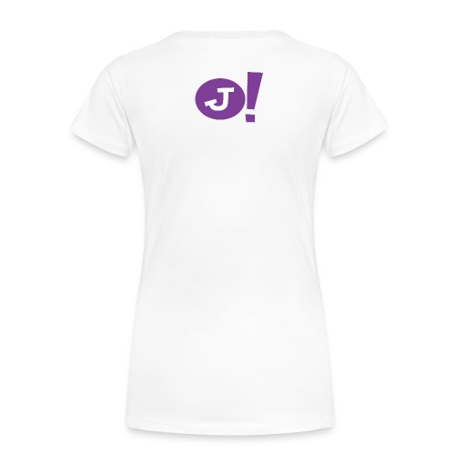 Jibboo! (Womens Double Sided) - Women's Premium T-Shirt