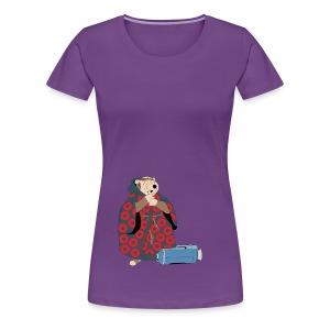 Friar Tuck (Womens Off-center) - Women's Premium T-Shirt