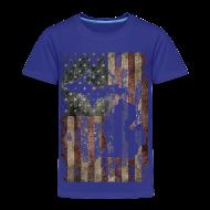 Baby & Toddler Shirts ~ Toddler Premium T-Shirt ~ Michigan - USA Flag