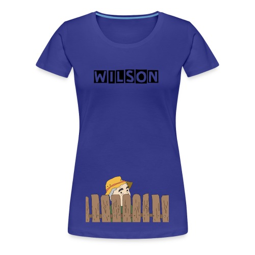 Wilson (Womens Double Sided) - Women's Premium T-Shirt