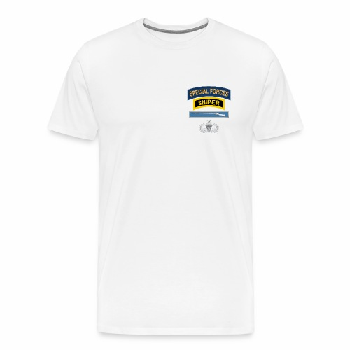 SF Sniper EIB Airborne Senior - Men's Premium T-Shirt