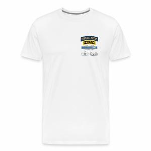 SF Sniper CIB Airborne Senior Air Assault - Men's Premium T-Shirt