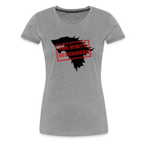 Women's The North Remembers - Women's Premium T-Shirt
