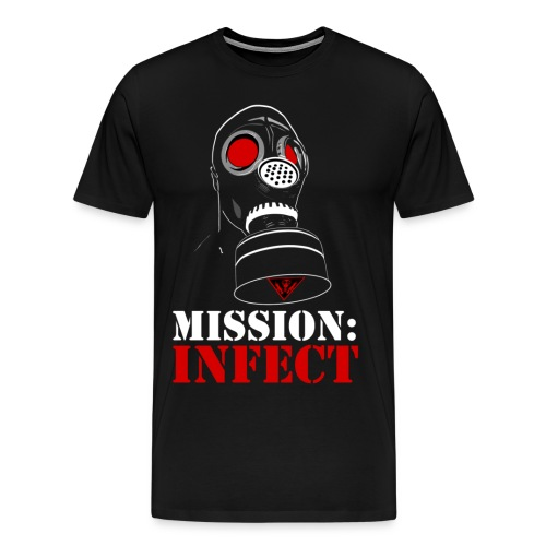 MISSION INFECT SHIRT XXXL AND UP - Men's Premium T-Shirt