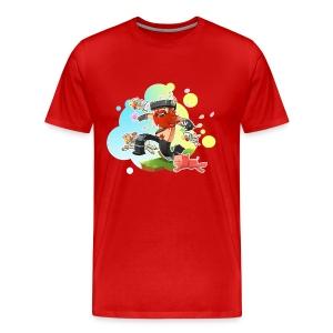 Big/Tall Mens Tee: Honeydew's Pets - Men's Premium T-Shirt