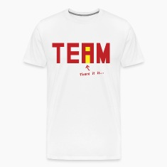 There it is. There's an i in Team.