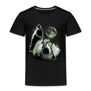 3 SHARK MOON - Toddler Premium T-Shirt
