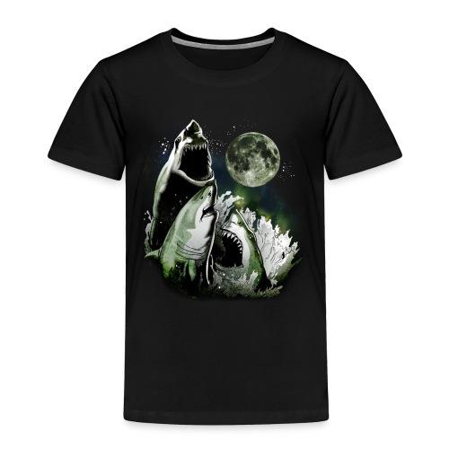 3 SHARK MOON - Toddler Premium T-Shirt